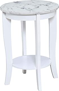 Best round wood table with marble top Reviews