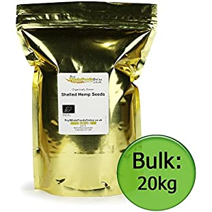 Organic Shelled Hemp Seeds 20kg Bulk