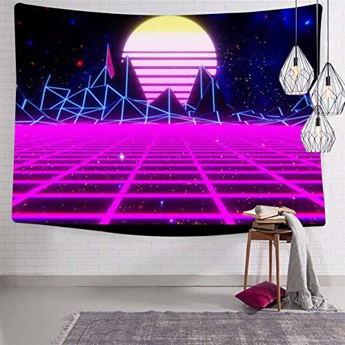 2183 Tapices de cuadros estéticos para montar en la pared, divertidos tapices para el hogar, tapices suaves para cama o sala de dibujo, 123 x 21 cm