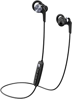 1MORE Vi React In-Ear Headphones Powered by Vi, Bluetooth Sport Wireless Earphones with AAC, IPX6 Waterproof, Lightweight, Secure Fit - Space Gray, 52