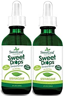 Sweetleaf Stevia Clear Liquid 4 Oz (2 Pack)