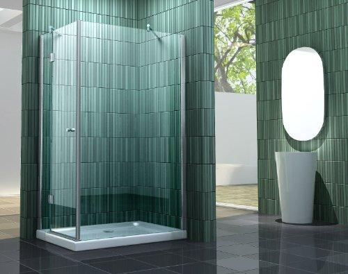 Duschkabine SILL-S 120 x 90 x 195 cm ohne Duschtasse
