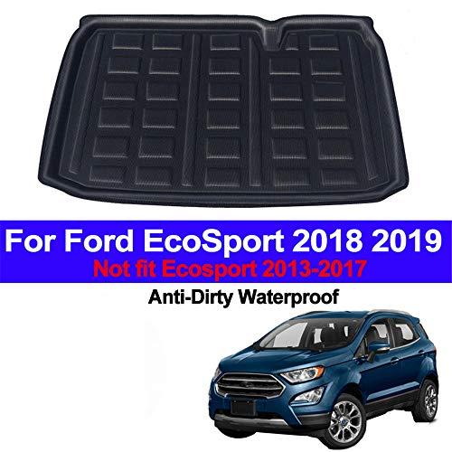 , Voor Auto Auto Kofferbak Cargo Liner Kofferbak Vloermat Tapijten Bagagedrager Matten Pad Mat Tapijt, Voor Ford EcoSport 2018 2019