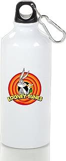Looney Tunes Bugs Bunny Aluminum Vacuum Insulated Sport Bottle White