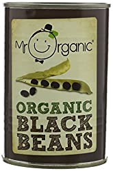 Cooked organic black beans in water – no salt or sugar added High Protein, High Fibre, Low Fat Suitable for vegetarians and vegans Cooked and tender Perfect for affordably eating organic every day.