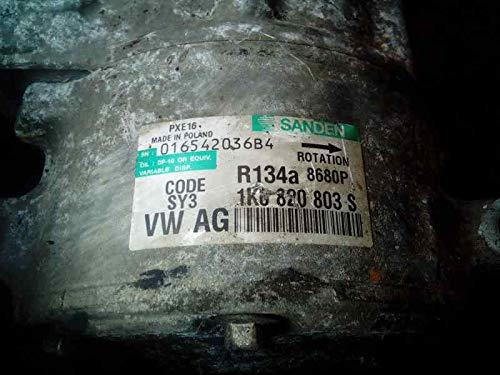 Compresor Aire Acondicionado V Golf V Berlina (1k1) 016542036B41K0820803S R134A8680P (usado) (id:dlaap171041)