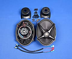 """The most powerful 5x7"""" speakers available to replace the Harley-Davidson Boom speakers in the saddlebag lids High efficiency vented voice-coil for improved cooling when operating at high volume levels for extended periods Custom bridge-mounted high-o..."""