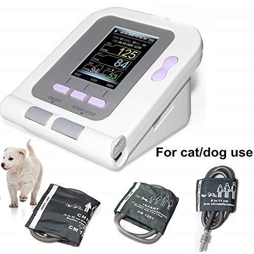 LWQ Digitaler Veterinär-Blutdruckmessgerät NIBP Cuff, Hund/Katze/Tiere (mit 3 Cuffs) Animal Care
