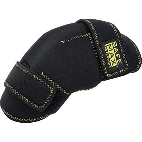 Safe Max® Knie-Motorrrad-Protektor Kniewärmer mit Protektoren 1.0, Typ B (2er Set) schwarz, Unisex, Multipurpose, Winter, Textil, Einheitsgröße