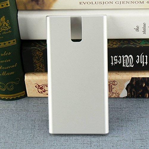 Owbb Hülle für Oukitel K3 Smartphone Handyhülle Ultradünne PC Kunststoff-Hard Case mit Backcover Design Hochwertige Anti-Wrestling Function Silber