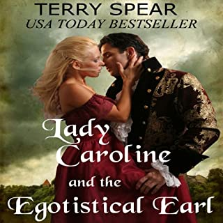 Lady Caroline and the Egotistical Earl audiobook cover art