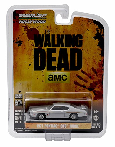 1971 PONTIAC GTO JUDGE from the hit TV show THE WALKING DEAD * GL Hollywood Series 13 * 2016 Greenlight Collectibles Limited Edition 1:64 Scale Die Cast Vehicle by GL Hollywood