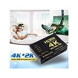 Switch HDMI 2.0 4K Ultra HD 1080p 5 ingressi + telecomando lettore Blu-Ray Xbox 360 PS3 PS4 TV