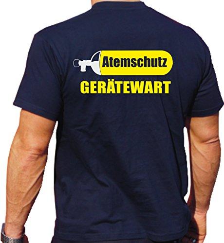 feuer1 T-Shirt Navy, Atemschutz-Gerätewart