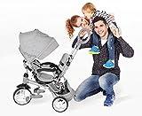 Zoom IMG-1 mondial toys triciclo passeggino con