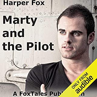 Marty and the Pilot audiobook cover art