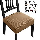 Fundas para sillas Pack de 4 Fundas sillas Comedor Fundas elásticas,Fundas de Asiento para Silla,...