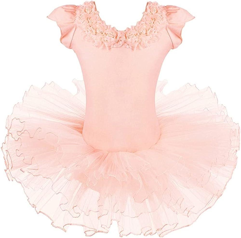 Children's Ballet Skirt Dance Clothes Girls Pink Dress Ballerina Tulle Skirt Girls Tight Dress