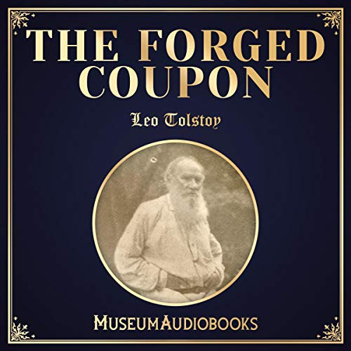 The Forged Coupon audiobook cover art