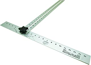 MARSHALLTOWN The Premier Line 27A 48-Inch by 22-Inch Handi-Square Adjustable T-Square