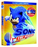 Sonic the Hedgehog Limited Collector's Edition (Blu-ray + DVD + Digital + Exclusive Mini-Posters)