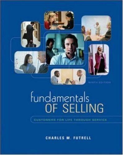 Fundamentals of Selling: Customers For Life Through Service w/ ACT CD-ROM