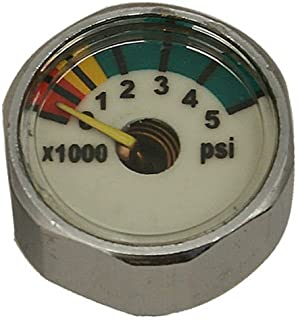 GetWetStore Pony Bottle Tank Small Pressure Gauge