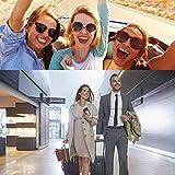 Reiseadapter Reisestecker Weltweit 224+ Ländern 5.6A Fast Charge Universal Travel Adapter mit 4 USB Ports+Typ C und AC Steckdosenadapter Internationale Reiseadapter für USA Europa UK Australien Usw - 2