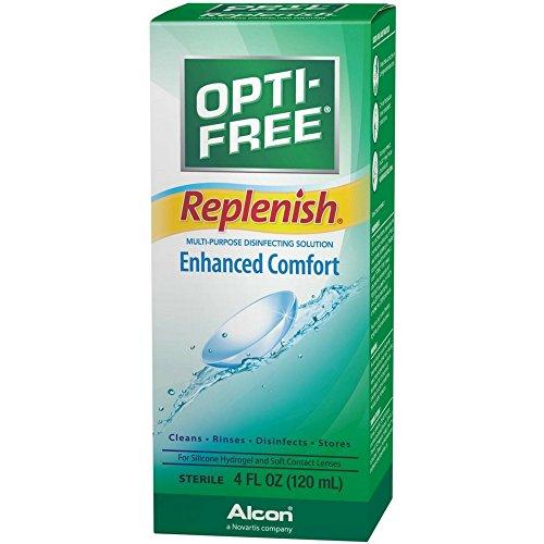 Opti-Free OPTI-FREE Replenish Multi-Purpose Desinfektionslösung 4 Unzen (Pack of 5)
