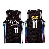 YPKL Kyrie Irving Jersey, camisetas de baloncesto de Brooklyn Nets para hombre, camiseta deportiva de malla 11 #, camiseta sin mangas, camiseta de swingman juvenil (S-XXL) S