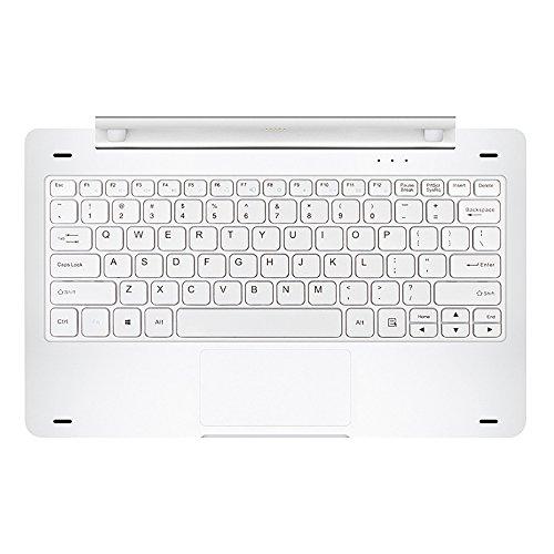 Teclast Original tbook16Pro Docking Tastatur 29,5cm 3,5mm Dual USB Port nur für tbook 16pro (Silber)
