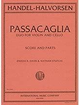 Handel/Halvorsen - Passacaglia - Violin and Cello - Score and Parts - edited by Frieda R.