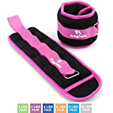 Fragraim Ankle Weights for Women, Men and Kids - Strength Training Wrist/Leg/Arm Weight Set with...