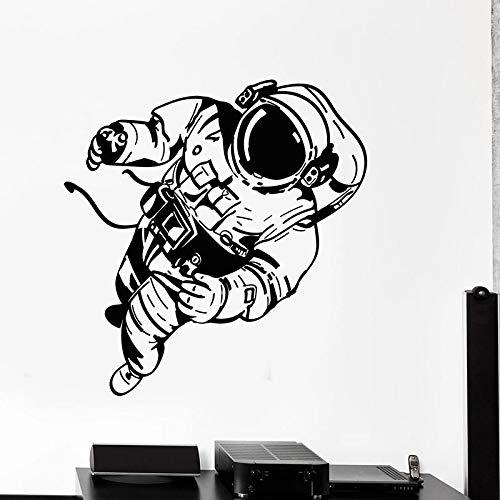 yaonuli Muursticker ruimte universum astronaut kostuum vinyl sticker kinderen slaapkamer home decor behang