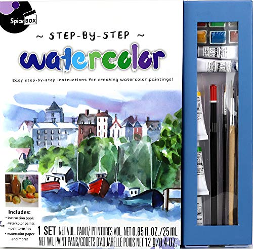 Spice Box Masterclass: Watercolor Painting