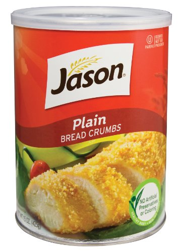 Jason Bread Crumbs Bread Crumbs Plain, 15-ounces (Pack of6)