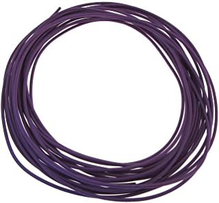 28AWG Copper Tinned Standard Hook Up Wire UL Style 1007/1569 - Purple - 15FT