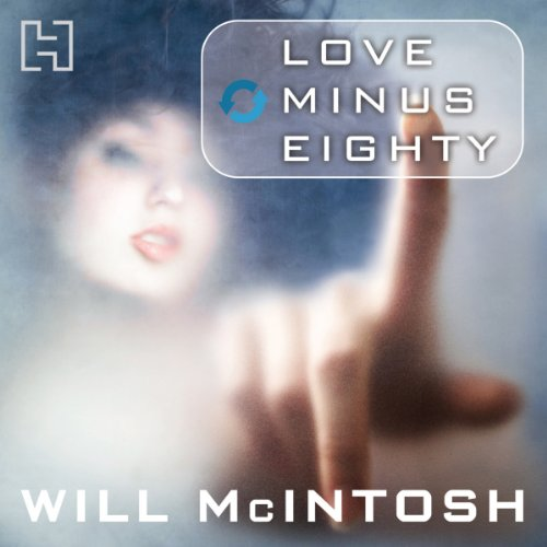 Love Minus Eighty audiobook cover art