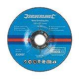 Silverline 699791 - Dischi per sgrossatura in metallo, 100 x 6 x 16 mm, confezione da 10...