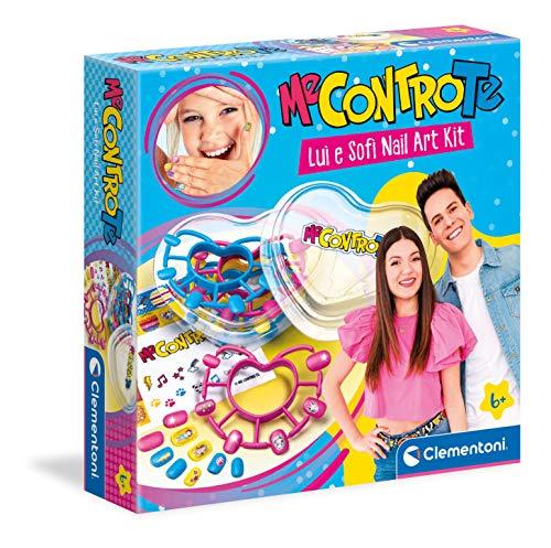 giochi bambini maschio Clementoni Me Contro Te-Lui e Sofi Nail Art Kit