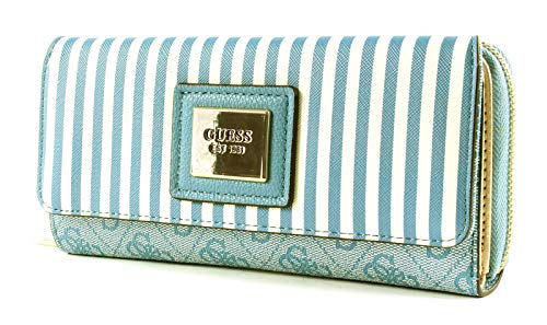 Guess Candace SLG Large Clutch Organizer Sky
