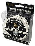 Stork HDx8, 8-Fach geflochtene premium Angelschnur 300m (Weiß, 10 lbs / 4.5 kg / 0.10 mm)