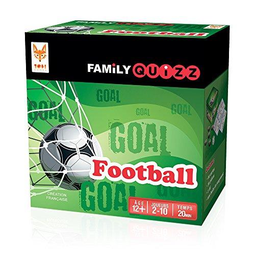 Topi Games–fam-fo-348901–Family Quiz Calcio–Il Gioco per Tutti i Fan di Calcio.