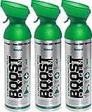 Reiner Sauerstoff in der Dose – 27 Liter NATÜRLICHER, 95% reiner Sauerstoff in zwei transportablen 9 Liter Sauerstoffdosen für mehr als 450 Inhalationen.