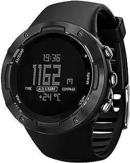Reloj Inteligente para Deportes Al Aire Libre, Reloj Digital para Correr, Nadar, Barómetro, Brújula, Impermeable