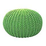 Personalizable Lavable Nordic Tejido IKEA Hecho a Mano Creativo Futón Taburete bajo Asiento Taburete Taburete Los Zapatos se Pueden Instalar,GreenGrass