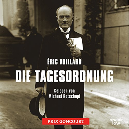 Die Tagesordnung audiobook cover art