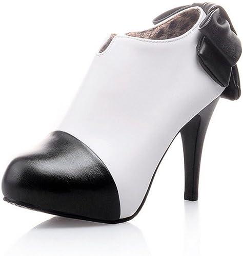 UH - botas de Charol para mujer negro negro
