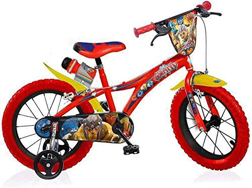 bicicletta gormiti Dino Bikes 614GR - Bicicletta Gormiti 14  bambino