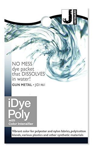 Jacquard iDye Fabric Dye 14 Grams-Gun Metal For Polyester, Nylon and all 100% Natural Fabrics